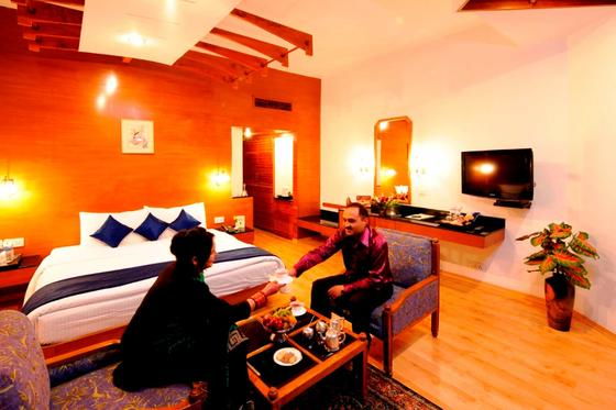 Balcony Room at ManuAllaya Resort Spa Manali