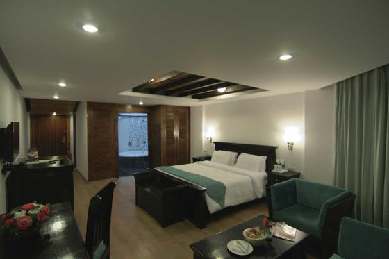 Orchard View Room at ManuAllaya Resort Spa Manali