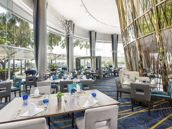 Chatrium Hotel & Residences River Barge Restaurant