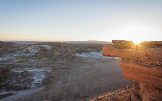 view of Piedra del Coyote near NOI Casa Atacama hotel