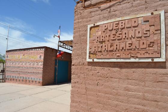 pueblo artesa in Artisan Town near NOI Casa Atacama hotel