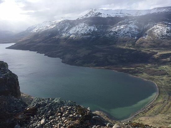 Aerial view of Sofía Lake & Benitez Hill at NOI Indigo