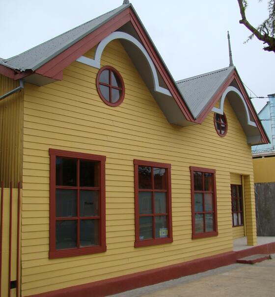 Front & exterior view of Historical Museum near NOI Indigo
