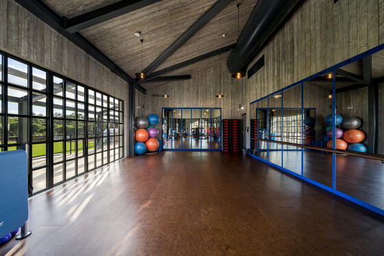 Dancing Studio with Mirror - The Magnolia Hotel