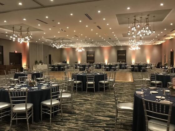 ballroom for event