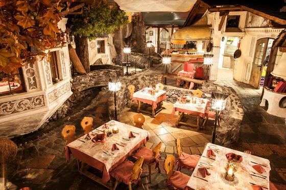 Via Mala Restaurantdorf im Hotel Liebes Rot Flüh, Haldensee Tiro