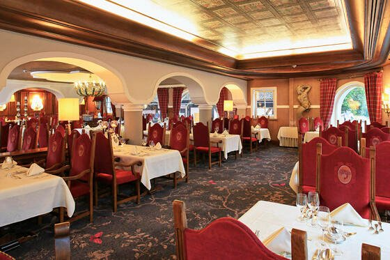 Restaurant im Hotel Liebes Rot Flüh, Haldensee Tirol