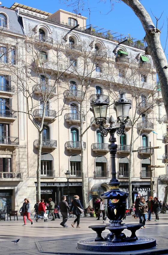 Hotel Continental facade