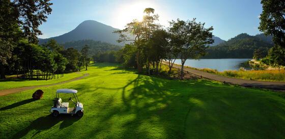 察殿索伊道高尔夫度假酒店高尔夫球场