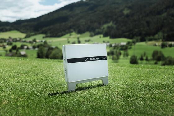 Foto von Abschlagstafel am Golfplatz von Schloss Pichlarn