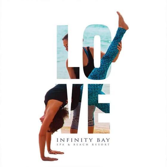 LOVE Infinity Bay logo