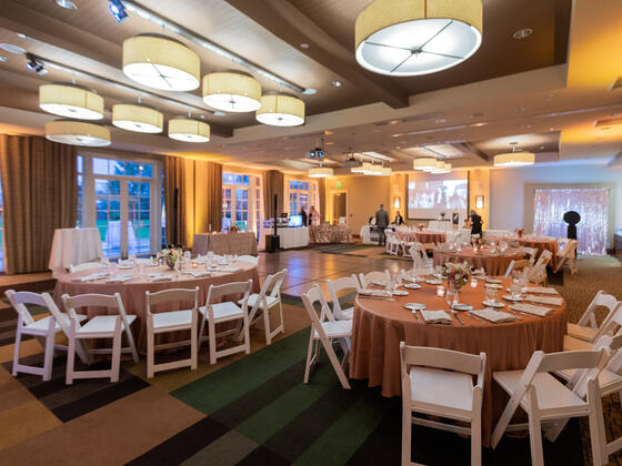 Olympic Wedding Ballroom at Alderbrook Resort