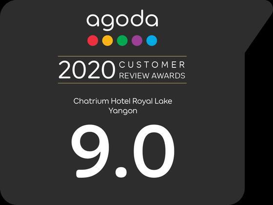 Agoda Customer Review Award