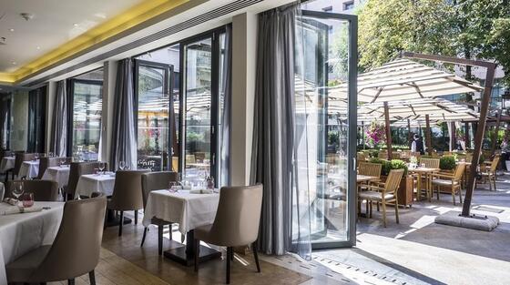 Restaurant la Athénée Palace Hilton București