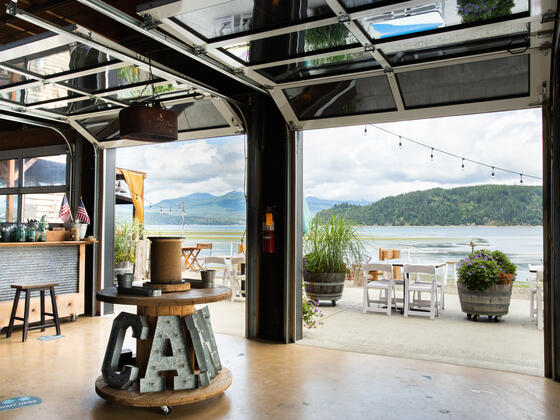 Event Spaces at  Alderbrook Resort & Spa