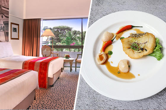 Accommodation and Dining - Goodwood Park Hotel