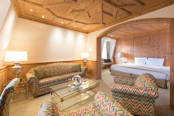 Lateral view of the Junior Suite of Precise Seehof Davos Kloster