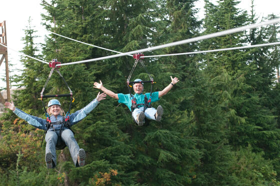 grouse mountain, zip lining, outdoor spots, trees, nature, best
