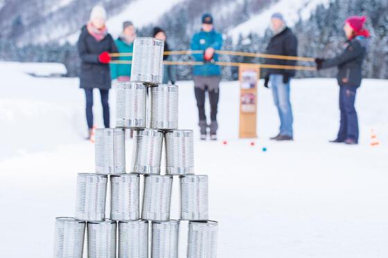 Teamgeist, Winter Challenge Schleuder