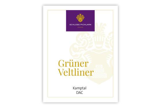 Etiketten Website Grüner Veltliner