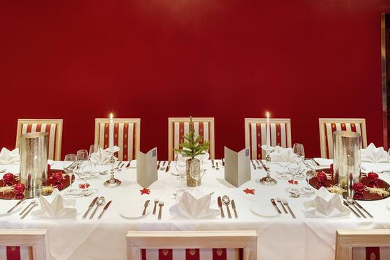 Steirische Weihnachten im Restaurant Rotem Salon