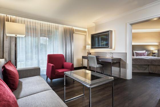 View of the junior suite Precise Resort Baden Baden