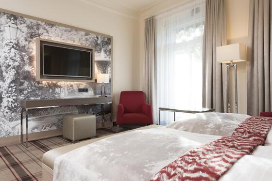 standard room view at Precise Resort Baden Baden