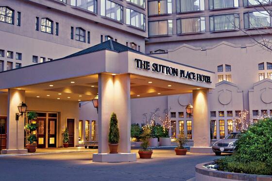 Sutton Place Vancouver - exterior The Sutton Place Hotels