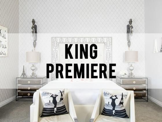 retro suites hotel king premiere room category header