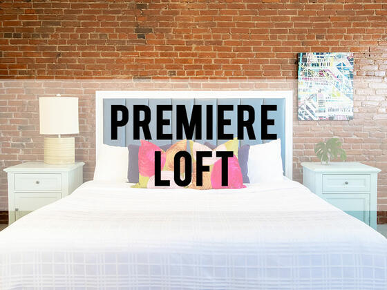 retro suites hotel premiere loft room category header