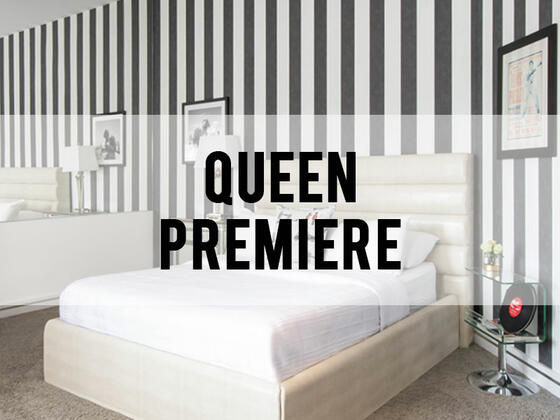 retro suites hotel queen premiere room category header