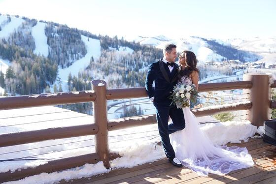 Stein Eriksen Lodge Winter Wedding