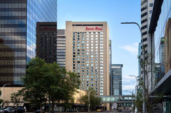 Suton Place Hotel Edmonton - exterior The Sutton Place Hotels