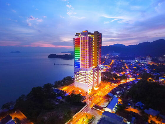 hotel located by the beach best hotel in malaysia lexis group (l
