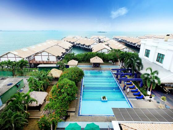 luxury beach side resort in lexis hotel group malaysia