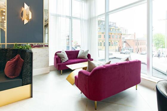 Satellite Lounge Corner Window The Sutton Place Hotel Halifax