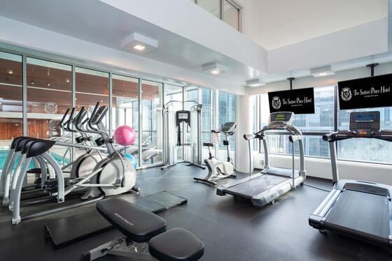 fitness centre Suton Place Hotel Edmonton