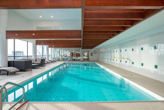 indoor pool Suton Place Hotel Edmonton