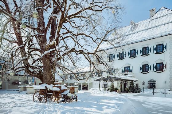 IMLAUER Hotel Schloss Pichlarn in Winter