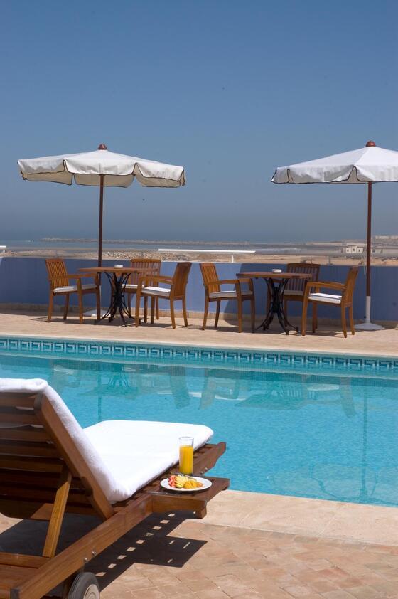 Pool View With Food - Farah Rabat Hotel