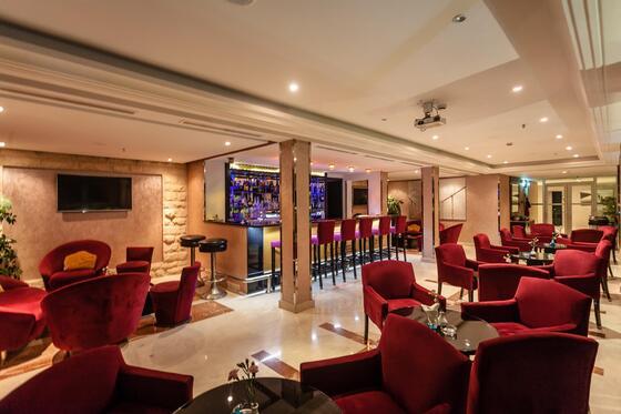 Hang out Area - Farah Rabat Hotel