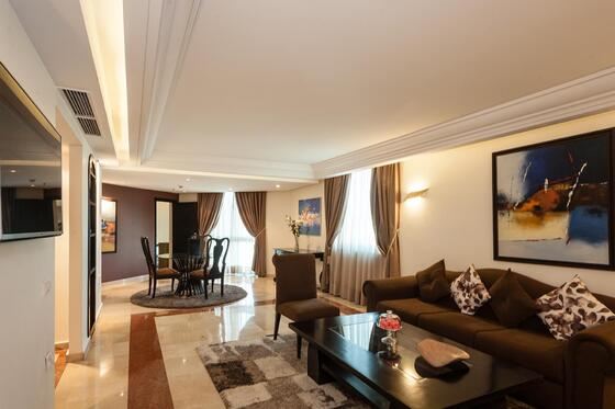 Inside Look of the room - Farah Rabat Hotel