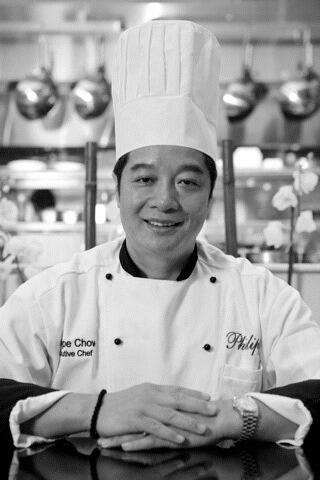 Portrait of Philippe Chow In a restaurant at Dreams Hotel