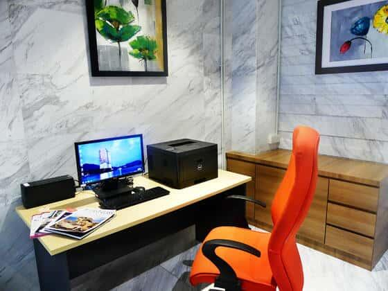 Business Centre in Lexis Suites Penang