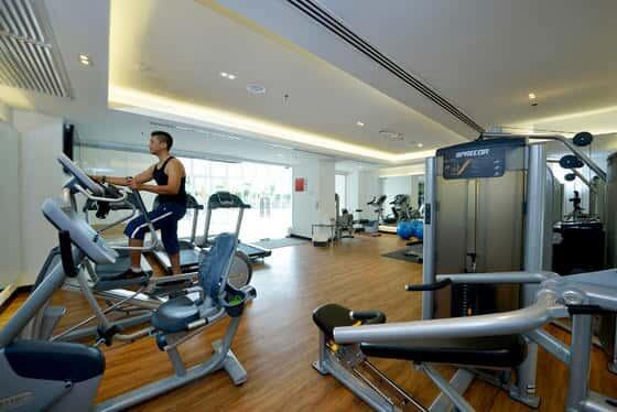 O2 Gym in Lexis Suites Penang