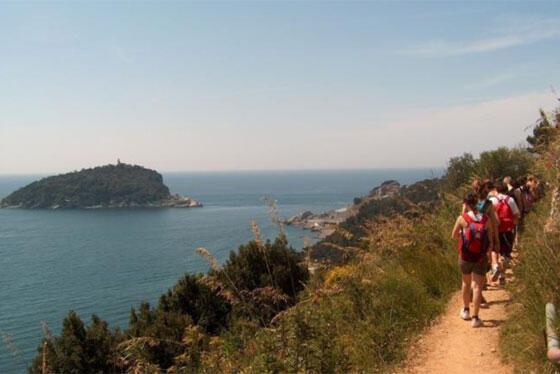 hiking a portovenere