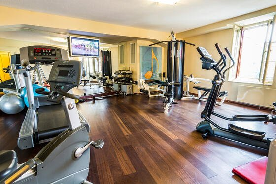 Fitness Center at Aria Hotel in Prague