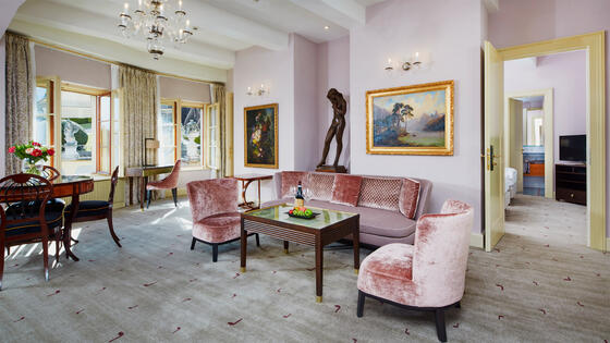 Mozart Two Bedroom Suite at Aria Hotel in Prague