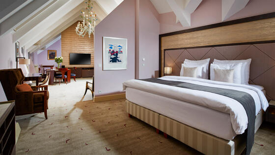 Smetana One Bedroom Suite at Aria Hotel in Prague