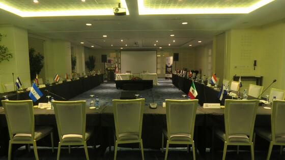Corporate Meetings & Events room setup at Central Hotel Panama